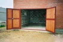 Распашные ворота, фото 2