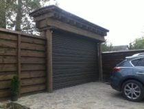 Рулонные ворота для дачи