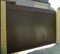 Рулонные ворота от Левин Групп