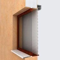 Вариант установки рольставен на окна 2