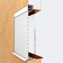 Вариант установки рольставен на окна 4