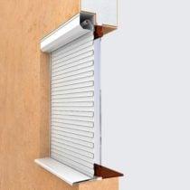 Вариант установки рольставен на окна 5