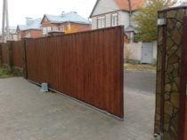 Откатные ворота, фото 6