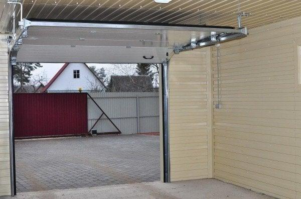 Чертежи гаражных ворот как сделать фото 477