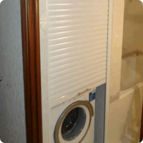 закрыть стиральную машинку